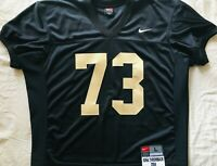 Iowa Hawkeyes team issued Sept. 4 2004 authentic Nike Throwback Game #73 jersey