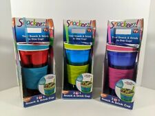 Snackeez 2 In 1 Drink And Snack Cup - As Seen On TV - Please Read Description