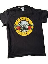 Guns and Roses Black  T-Shirt Size M