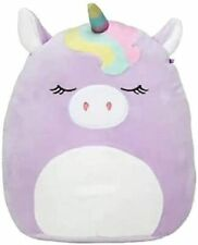 "Squishmallow Kellytoy - Super Soft Plush Toy  (8"", Silvia The Purple Unicorn)"