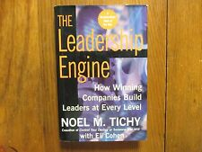 NOEL M . TICHY/ELI COHEN Signed Book(THE LEADERSHIP ENGINE-'97 1st Edit Hardback
