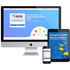 Complete GDPR documentation with risk assesment procedure