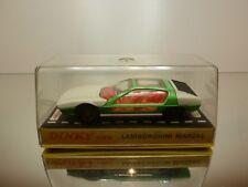 DINKY TOYS 1:43 - LAMBORGHINI MARZAL 189 GREEN WHITE - GOOD CONDITION IN BOX -