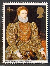 Queen Elizabeth I illustrated on 1968 Stamp - Unmounted mint