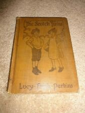 "Vintage 1919 Book ""The Scotch Twins"" by Lucy Fitch Perkins"