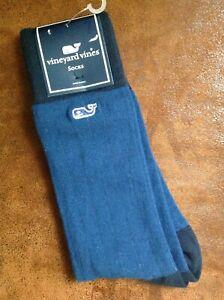 Vineyard Vines socks blue NEW