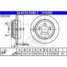 Bremsscheibe (2 Stück) - ATE 24.0110-0392.1