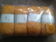 4 x 100g DK So Crafty Wool/Yarn - Honey