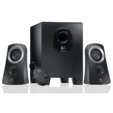 Logitech Z313 3 Piece 2.1 Channel Multimedia Speaker System - Black / Silver