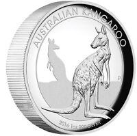 2016 Australian Kangaroo 1 oz Dollar $1 Silver Proof High Relief Coin Australia