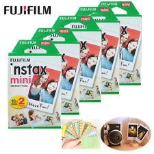 100 White Sheet Fujifilm Fuji Instax Mini Film for 7 7s 8 10 20 25 50s 50i SP-1