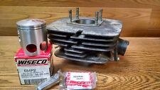 YAMAHA CYLINDER DT125 DT 125 82-90 O/S+.50mm + WISECO PISTON 684P2 CYL# 3X300