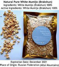 VERY STRONG White Shilajit 1.76oz (50gms) in Bag, Pure Stone Oil Brakshun,Mumijo