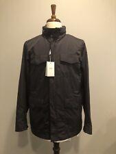 $1395 New ARMANI Collezioni Mens Dark Gray Fall Jacket Rain Coat 36 US 46 IT