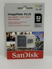 SanDisk Extreme 32GB Class 10 MicroSDHC Card with Adapter Full HD Recording