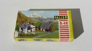 Gren. Faller Germany B-48-  NIB Water Wheel Barn Plastic Model Kit
