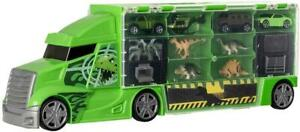 Teamsterz Dinosaur Transporter Truck Toy Playset 4 Cars & 4 Dinosaurs For Kids