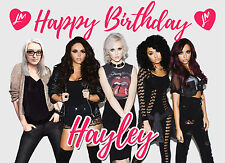 Little Mix Personalised Photo Birthday Greetings Card