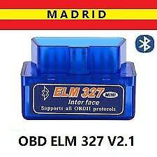 Diagnosis Multimarca para Coche. OBDII Mini ELM 327 V2.1 Bluetooth
