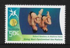 AUSTRALIA 2006 COMMONWEALTH GAMES DIVING Men's Robert & Mathew 10m Dive 1v MNH