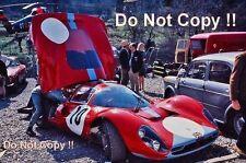 Attwood & Bianchi Ferrari 412 P Spa 1000 km de 1967 fotografía