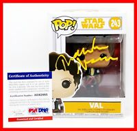 Thandie Newton Val Solo: A Star Wars Story Signed Autographed Funko POP PSA JSA