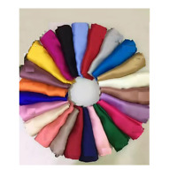 Pashmina Scarf Viscose Plain Wrap Shawl Stole Scarf Sheen Sateen Wedding scarfs