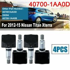 4PCS Tire Air Pressure Monitor System Sensor 40700-1AA0D Fits For Nissan Titan