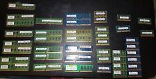 DDR3 Desktop And Laptop Memory RAM lot (A Few DDR2)
