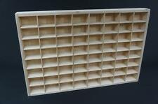 1 x Miniatures Display Tray 64 Compartments Shelf Toy Storage Tray Unit PD14XL