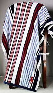 "NWT Polo Ralph Lauren Big Pony Beach Towels, 100% Cotton, 66"" (L) x 35"" (W)"