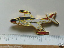 T-2 Buckeye Millitary Aircraft Airplane Pin Badge