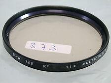 Original B+W MC Foto Photo Lens Sky Skylight Filter 72MM 72 E72 (373(3)