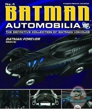 Dc Batman Automobilia Figurine Magazine #4 Batman Forever Movie B Eaglemoss
