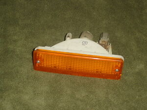 86 87 88 Nissan Stanza Van driver side amber maker light (may fit others)