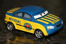 "DISNEY PIXAR CARS ""RACE OFFICIAL TOM"" SHIP WW, LOOSE"