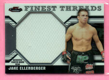 2011 Topps Finest UFC Threads Jake Ellenberger  Jumbo  Fighter Worn Gear