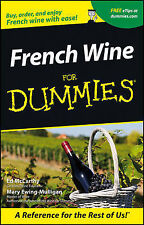 French Wine For Dummies by Ed McCarthy, Mary Ewing-Mulligan (Paperback, 2001)