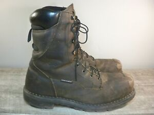 Red Wing 2211 Men's Gambler Leather 600G Thinsulate Work Steel Toe Boots Size 12