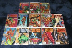 IRON MAN 1 - 13 (VF) COMPLETE SERIES COLLECTION JIM LEE 1996 LOT VOL 2