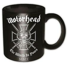 Motorhead - The World Liegt Bei Ihnen Keramik Kaffee / Tee Tasse - & Offiziell