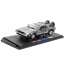 Michael J. Fox and Back to the Future Cast Autographed 1:18 Die-Cast DeLorean