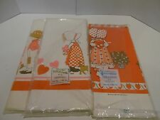3 Holly Hobbie Vintage Valentines Party Table Covers Paper Tablecloths NEW