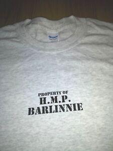 BARLINNIE PRISON T-SHIRT GLASGOW SCOTLAND all sizes available NEW