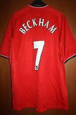 Maglia Shirt Maillot Jersey Manchester Beckham Man Utd  England Vodafone