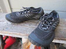 Merrell Barefoot PACE GLOVE Black Minimalist Sport Shoe Women's US 6.5 EU 37 EUC