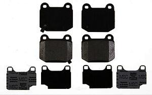 Rr Semi Met Brake Pads  ACDelco Professional  17D961M