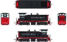 Broadway Ltd 3334 HO Scale SW1500 SSW 2488 (Cotton Belt) +Sound - Brand New Mint