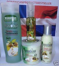 Mayoliva Boe Combo Shampoo Hair Treatment 8 oz Leave In Shine Drops Nourishing