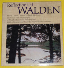 Reflections At Walden 1971 Henry David Thoreau's Classic Writings Nice See!